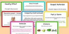 Citirea ghidata, întrebări pentru analiza de text - Pachet cu activități