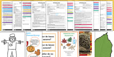 EYFS Autumn Themed Adult Input Planning and Resource Pack