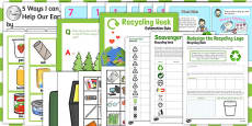 Recycle Week Activity Pack