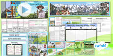 PlanIt - Geography Year 5 - Exploring Eastern Europe Unit Pack