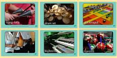 Musical Instrument Display Photos