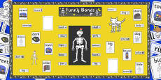Ready Made Display Pack to Support Teaching on Funnybones
