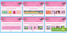 Literacy Content Descriptions Texts in Context Display Posters