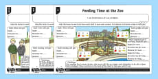 Find 1/2, 1/4, 1/3 or 3/4 of a Set of Objects Differentiated Activity Sheets