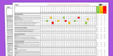 2014 Curriculum Year 6 Science Spreadsheet
