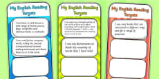 2014 Curriculum LKS2 Years 3 and 4 Reading Assessment Bookmarks and Cut Outs