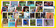 The Olympics Sport Event Display Photo Pack