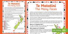 Te Matatini Display Poster