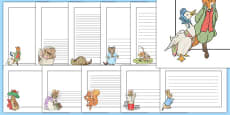 Beatrix Potter Page Borders Pack