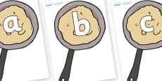 Phoneme Set on Pancakes