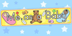 Australia - Me As A Baby Display Banner