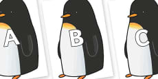 A-Z Alphabet on Penguin to Support Teaching on Lost and Found
