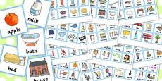 First Word Cards Older Children
