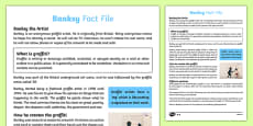 Banksy Differentiated Fact File