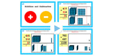 Year 3 Addition and Subtraction Lesson 3d Adding 3 and 3 Digit Numbers With Carrying Tens PowerPoint