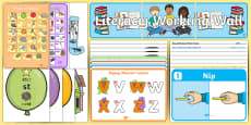 * NEW * EYFS Reception Literacy Working Wall Display Pack