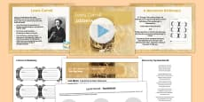 Into the Unknown Pre-1914 Literature Lesson Pack 3: Jabberwocky