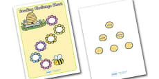 Reading Challenge Chart (Flowers & Bees)