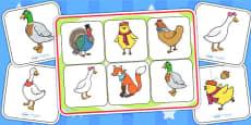 Chicken Licken Matching Mat SEN