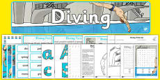 Rio 2016 Olympics Diving Resource Pack