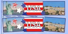 USA Display Banner