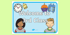 Welcome to 3rd Class Display Posters
