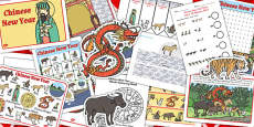 Chinese New Year Story Resource Pack