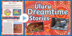 Uluru Dreamtime Information PowerPoint