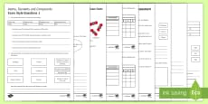 Atoms, Elements and Compounds Assessment Package