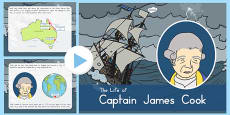 Australia - James Cook PowerPoint