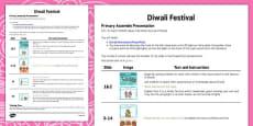 Diwali Assembly Script