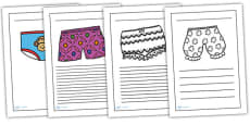 Writing Frames to Support Teaching on Pants