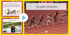 Olympics Information PowerPoint Polish