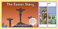 The Easter Story Romanian Translation