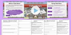 KS2 What Is Fake News? Resource Pack