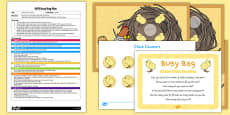 Easter Chick Counting EYFS Busy Bag Plan and Resource Pack