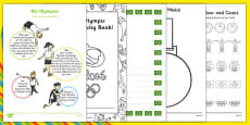 EYFS Rio Olympic Games Nursery FS1 Home Learning Activity Pack