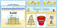 EYFS Sand Area Classroom Set Up Pack