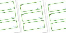 Newt Themed Editable Drawer-Peg-Name Labels (Blank)