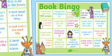 Book Bingo A3 Display Poster