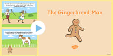 The Gingerbread Man Story PowerPoint