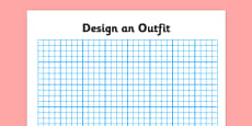 Squared Paper Design an Outfit