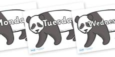 Days of the Week on Pandas