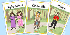 Cinderella Display Posters