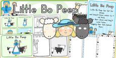 Little Bo Peep Resource Pack (Australia)