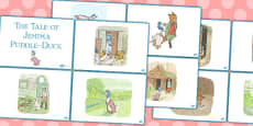 The Tale of Jemima Puddle Duck Story Sequencing Cards (Beatrix Potter)