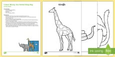 * NEW * Colour Mixing Zoo Animlas Busy Bag Resource Pack for Parents