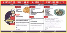 Wartime Recipe Booklet