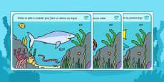 Under the Sea Playdough Mats French