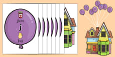 Phase 3 Phonic Balloons Display Pack
